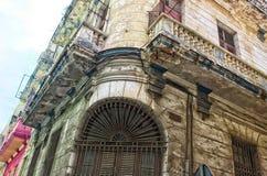 La Habana vieja que desmenuza Fotos de archivo