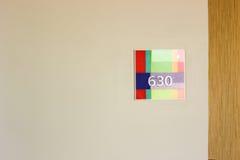 La habitación número 630 parece afortunada Fotos de archivo libres de regalías
