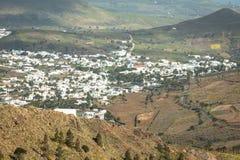La Haria in Lanzarote - popular tourist destination. Royalty Free Stock Photography