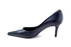 La haute guérissent la chaussure Photo stock
