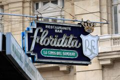La Floridita Royalty Free Stock Photos