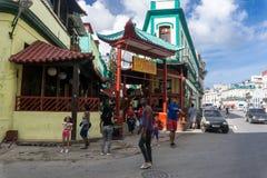 China-town streets, general travel imagery from La Havana, Cuba Stock Photo