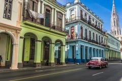 Street view in La Havana vieja, cuban general travel imagery, Cuba Stock Photography