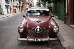 Old car in Havana Stock Photos