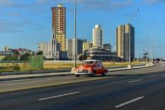 La Havane automobile classique, Cuba Photographie stock