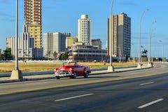 La Havane automobile classique, Cuba Images stock