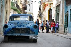 La Havane, Cuba Photographie stock
