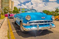 LA HAVANE, CUBA - 30 AOÛT 2015 : Vieux classique Photo stock