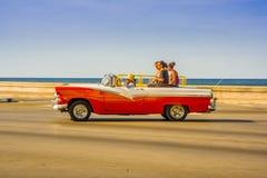 LA HAVANE, CUBA - 30 AOÛT 2015 : Vieux classique Photographie stock libre de droits