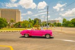 LA HAVANE, CUBA - 30 AOÛT 2015 : Vieux classique Images stock
