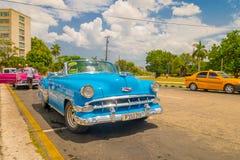 LA HAVANE, CUBA - 30 AOÛT 2015 : Vieux classique Photo libre de droits