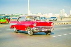 LA HAVANE, CUBA - 30 AOÛT 2015 : Vieux classique Image stock