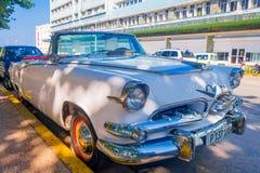 LA HAVANE, CUBA - 30 AOÛT 2015 : Vieux classique Photos stock