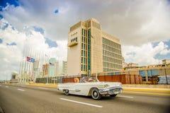 LA HAVANE, CUBA - 30 AOÛT 2015 : Vieux classique Photos libres de droits