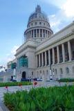 La Havane, Cuba - bâtiment de capitol dans la vieille ville de La Havane Photo stock