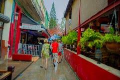 LA HAVANE, CUBA - 2 DÉCEMBRE 2013 : Ville de la Chine Image stock