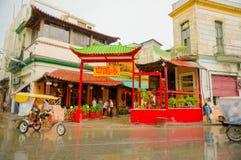 LA HAVANE, CUBA - 2 DÉCEMBRE 2013 : Ville de la Chine Photographie stock
