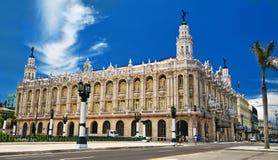 LA HAVANE, CUBA - 27 MAI 2016 Le grand théâtre de La Havane, aka de Lo images stock
