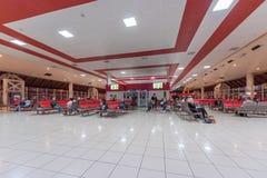 LA HAVANE, CUBA - 25 OCTOBRE 2017 : Havana International Jose Marti Airport Déviation Hall Images stock