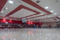 LA HAVANE, CUBA - 25 OCTOBRE 2017 : Havana International Jose Marti Airport Région d'enregistrement Photo libre de droits