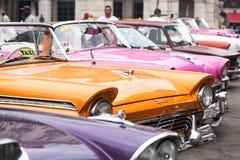 La Havane, Cuba - 22 septembre 2015 : O garé par voiture américaine classique Images stock