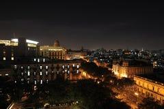 La Havane la nuit Photos libres de droits