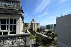 La Havanna,旅馆国民 库存图片