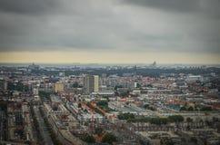 La Haya, NL en miniatura del inclinación-cambio Foto de archivo libre de regalías