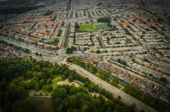La Haya, NL en miniatura del inclinación-cambio Fotos de archivo libres de regalías