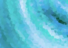 La helada de la nieve del caleidoscopio de la lona talló el diseño esmeralda del diseño web del fondo del modelo azul festivo libre illustration