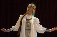 La hembra yakuta Imagen de archivo libre de regalías