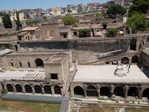 La Herculaneum-Italie Image libre de droits