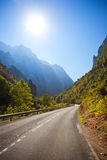 La Hermida pass in Picos de Europa Royalty Free Stock Photos