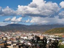 La hermosa vista en la ciudad vieja de Lijiang Yunan, China Fotografía de archivo
