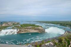 La herradura cae en Niagara Falls fotografía de archivo