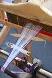 La herramienta de máquina nacional rusa del tejedor Fotografía de archivo