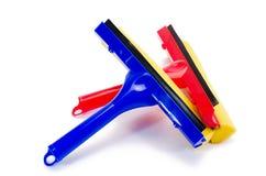 La herramienta para la limpieza de cristal Imagenes de archivo