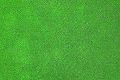 La hierba artificial verde plat Imágenes de archivo libres de regalías