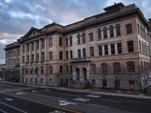 La High School secundaria técnica central Imágenes de archivo libres de regalías