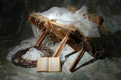 La historia de la Navidad Fotos de archivo