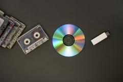La historia de medios Fotos de archivo libres de regalías