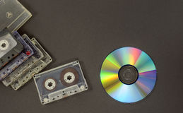 La historia de medios Fotografía de archivo
