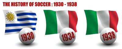 La historia del fútbol 1930-1938 libre illustration