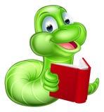 La historieta linda Caterpillar Worm Foto de archivo libre de regalías