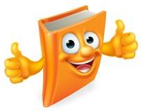 La historieta manosea con los dedos encima del libro Imágenes de archivo libres de regalías