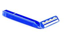 La hoja de afeitar muestra el frente Imagen de archivo libre de regalías