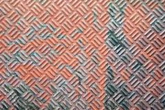 La hoja del hierro aherrumbró textura Fotografía de archivo libre de regalías