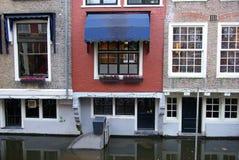 La Hollande, Delft, place centrale images libres de droits