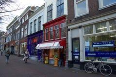 La Hollande, Delft, rues photos stock