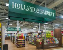 La Hollande et le Barrett Store Photos libres de droits